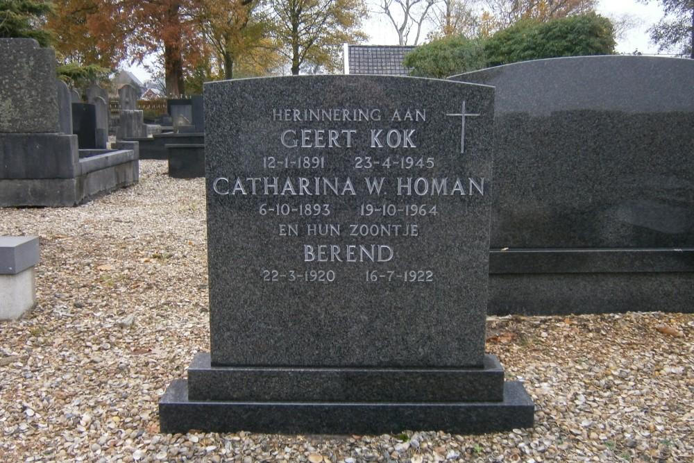 Dutch War Grave Municipal Cemetery Wagenborgen