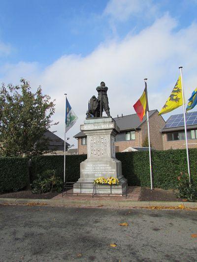 War Memorial Adinkerke Adinkerke Tracesofwar Com