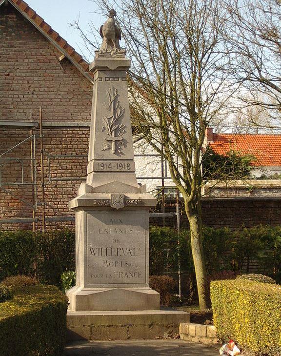 World War I Memorial Willerval