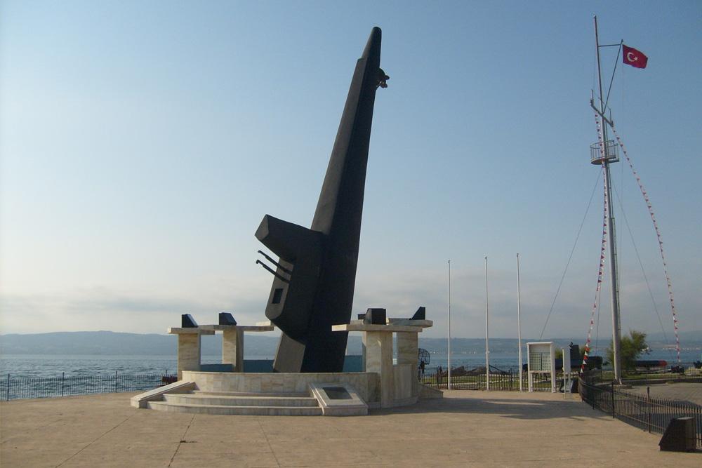 Onderzeebootmonument Gelibolu