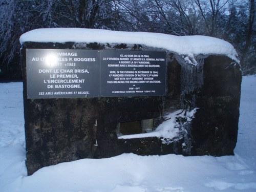 Memorial Breakthrough Encirclement of Bastogne