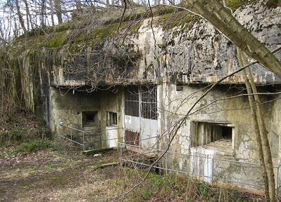 Maginotlinie - Fort Molvange