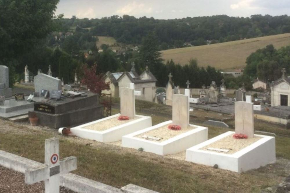 Commonwealth War Graves Municipal Cemetery North Perigueux