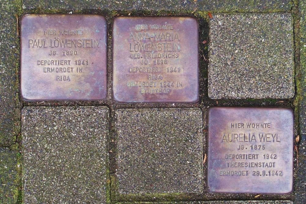 Stumbling Stones Bahnhofstraße 16