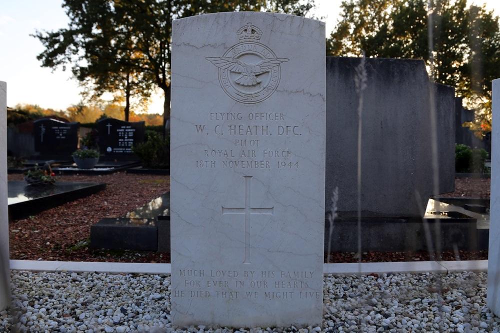 Commonwealth War Grave Roman Catholic Churchyard Hout-Blerick