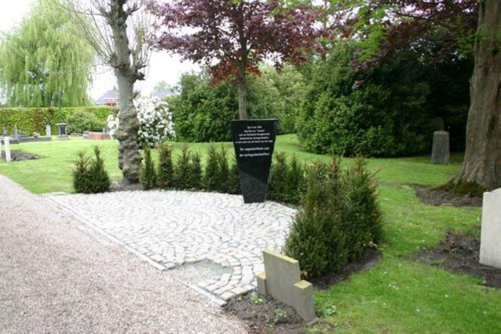 Onbekend graf in Uithuizermeeden is écht van Henk Gritter. DNA van zijn enige nog levende broer matc