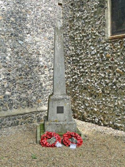 War Memorial Frettenham