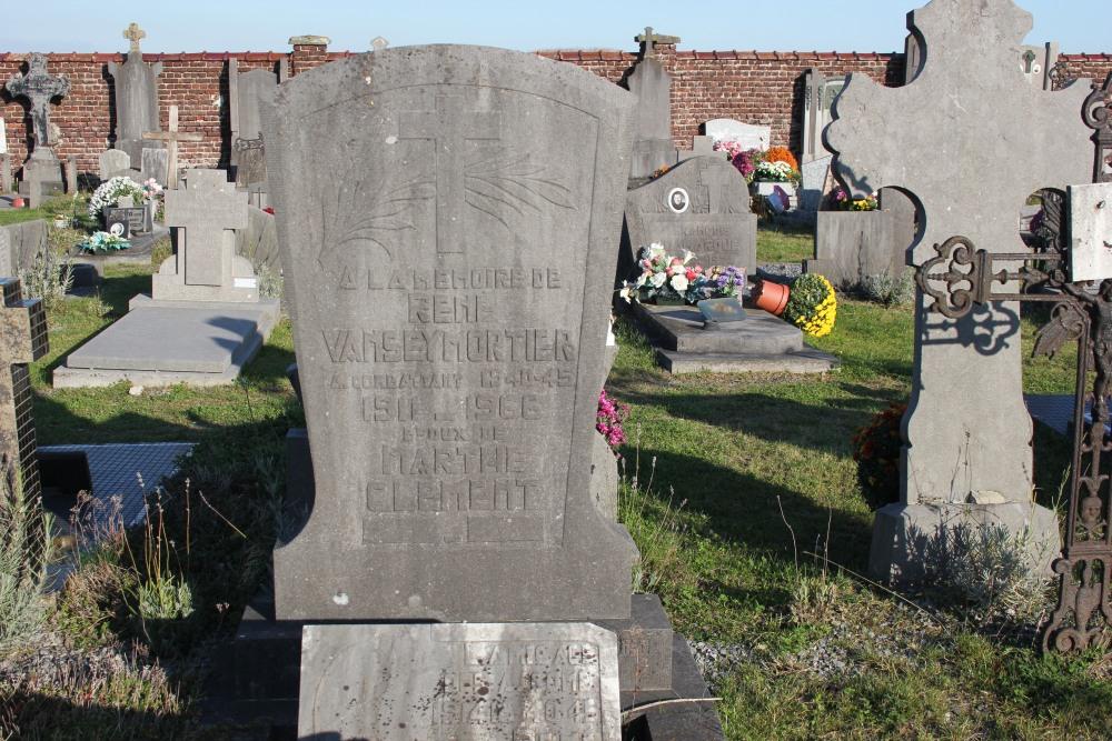 Graven Oudstrijders Velaines