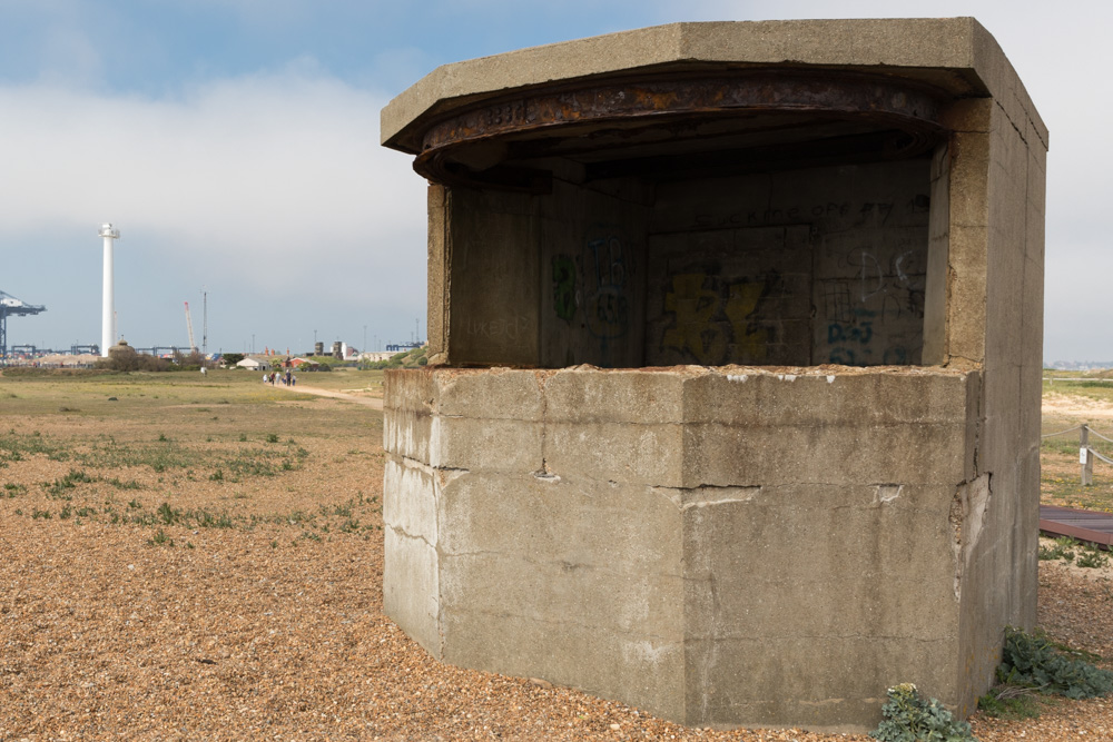 Searchlight Housing Landguard Point