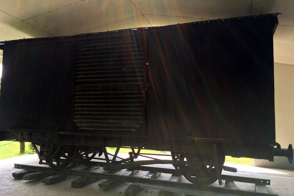 Capas National Shrine - Bataan Death March Box Cars