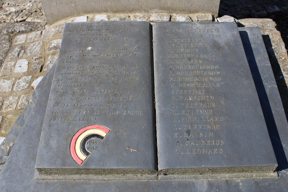 Remembrance Stone Executed Civilians Linsmeau