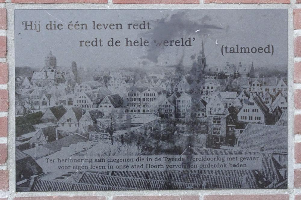 Monument Onderduikers Hoorn
