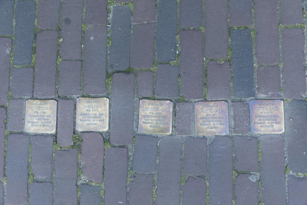 Stumbling Stones Grendelplein 7