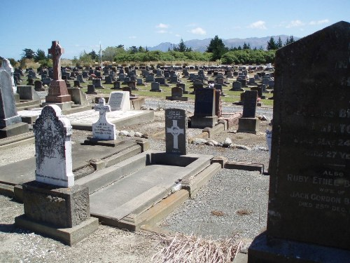 Oorlogsgraven van het Gemenebest Kaikoura Cemetery