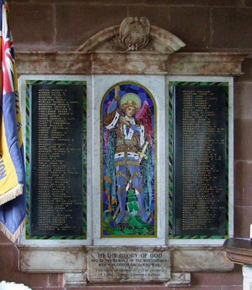War Memorial Whitchurch