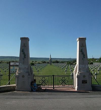 Franse Oorlogsbegraafplaats Sillery