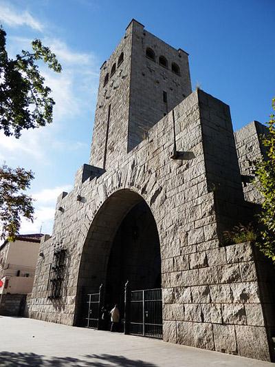 Mausoleum Italian Soldiers Zaragoza