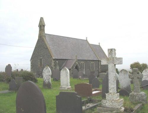 Commonwealth War Graves St. Gwenfaen Churchyard