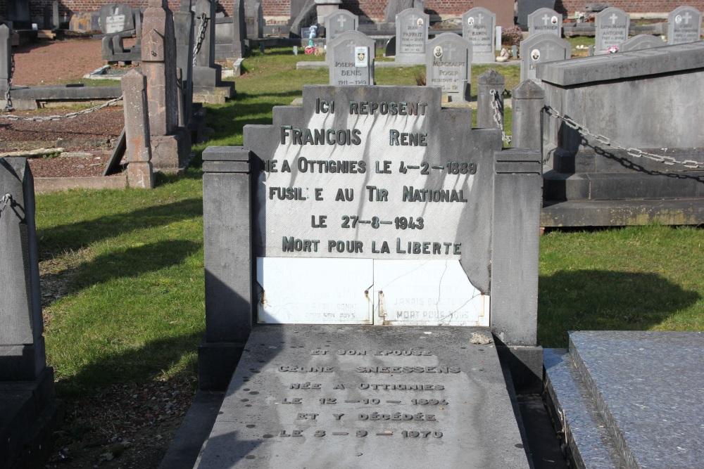 Graven Burgerslachtoffers Ottignies