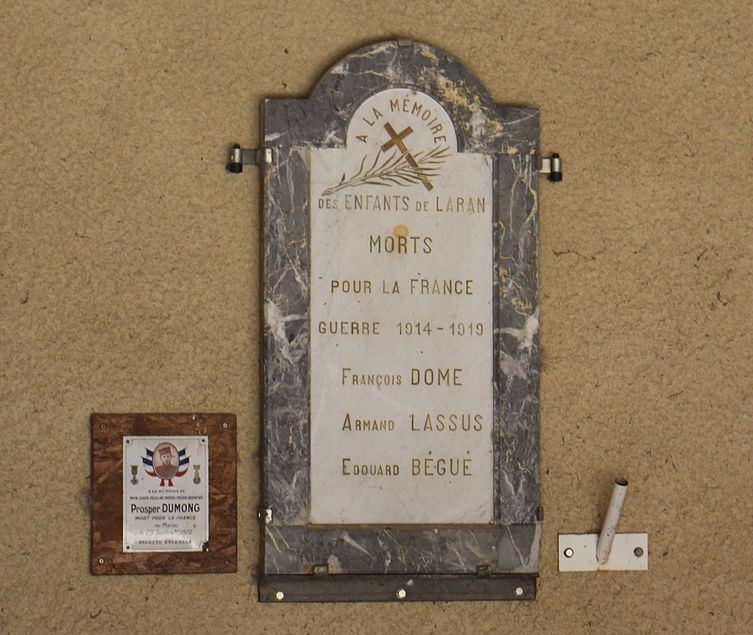World War I Memorial Laran