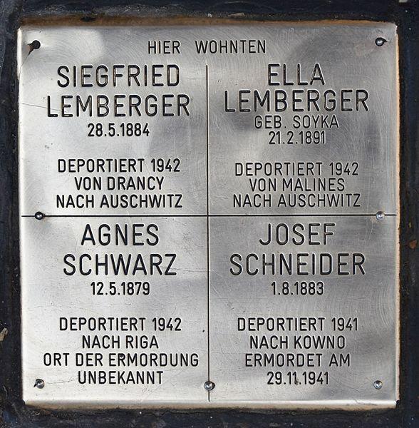 Gedenkstenen Neubaugasse 23