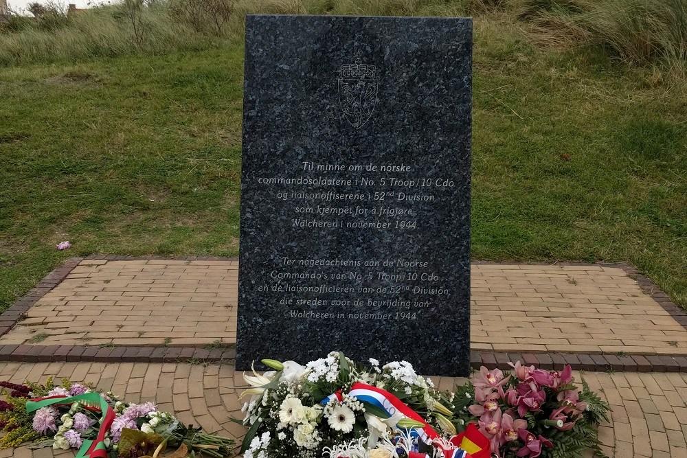 Monument voor Noorse Commandos