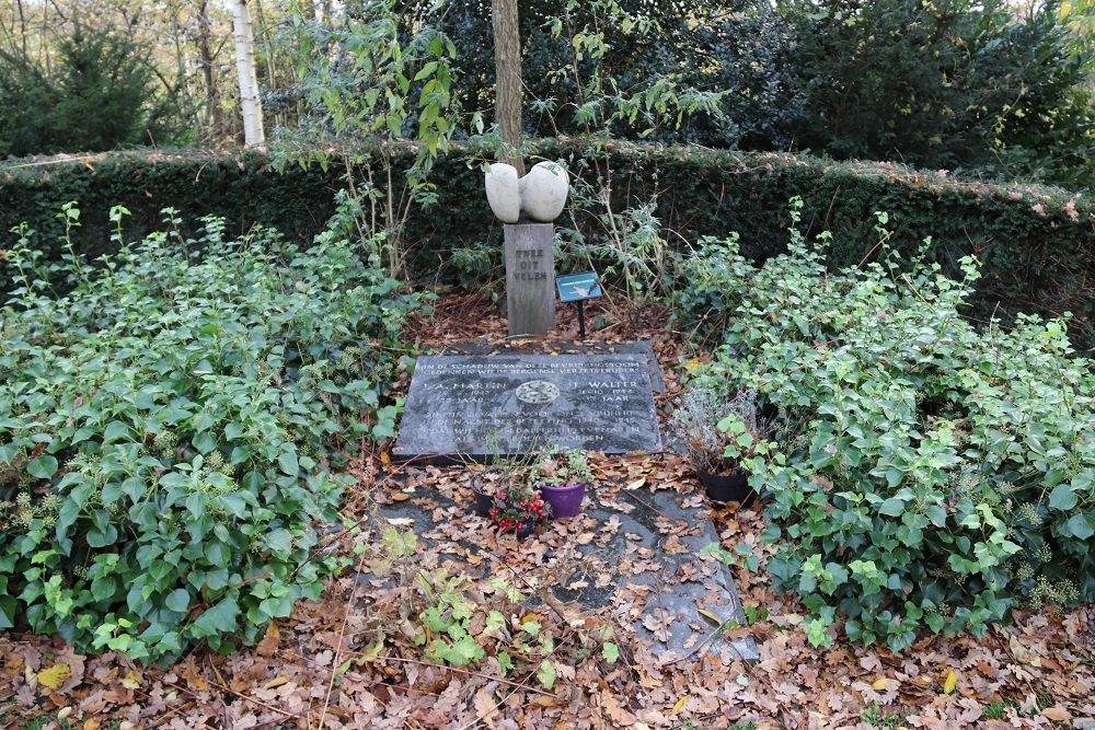 Gedenksteen Verzetsmensen Algemene Begraafplaats Bergen