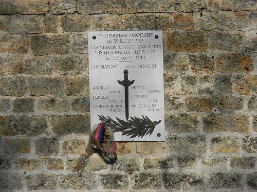 Monument Executie 22 Augustus 1944