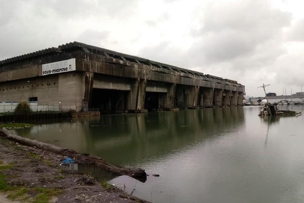 U-Boat Bunker BETASOM Bordeaux