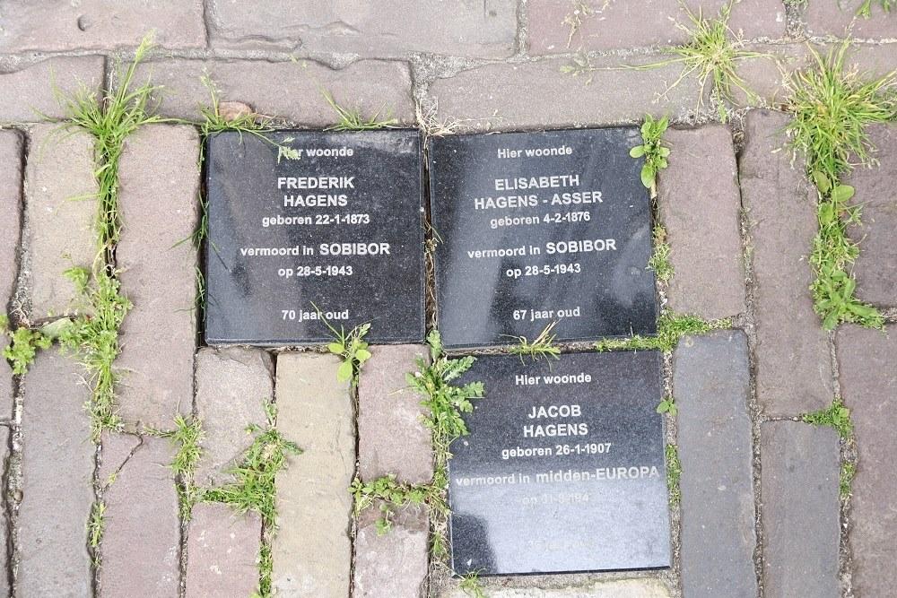 Herdenkingsstenen Achterstraat 16