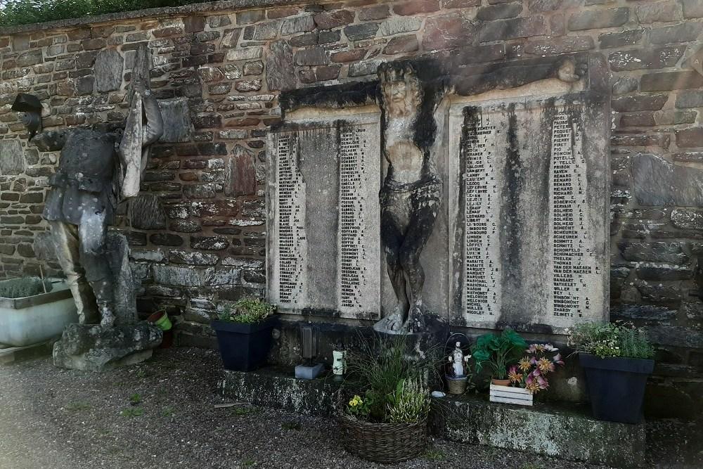 Monument Eerste Wereldoorlog Stedelijke Begraafplaats Malmedy
