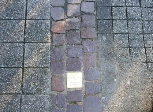 Stolperstein Kaiserstraße 145