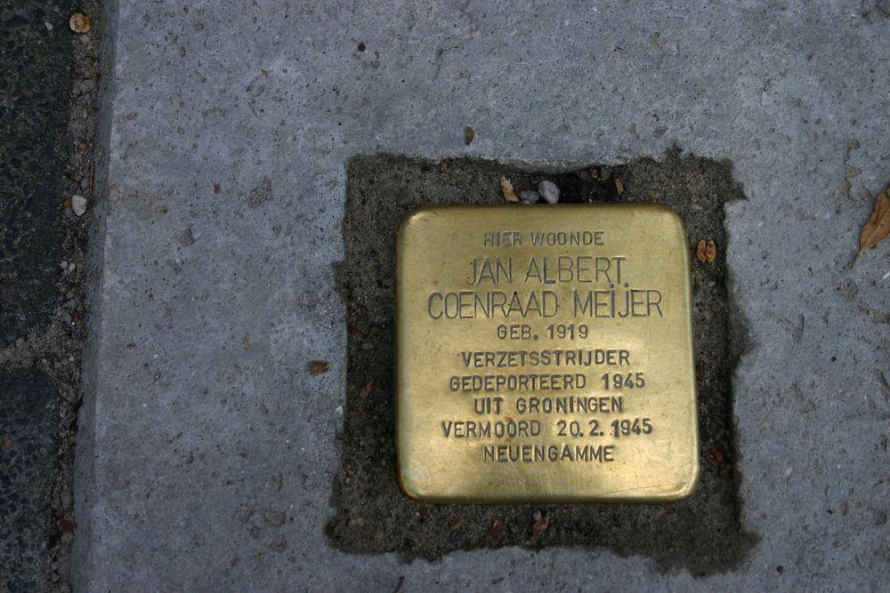 Stumbling Stone H.W. Mesdagstraat 22