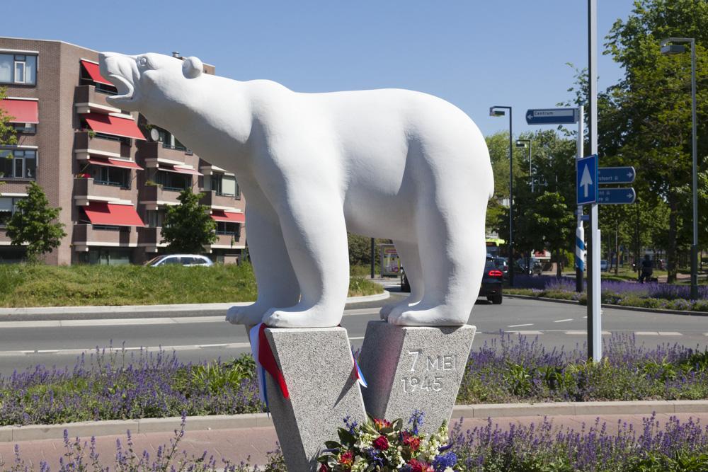 Polar Bear Memorial Hilversum
