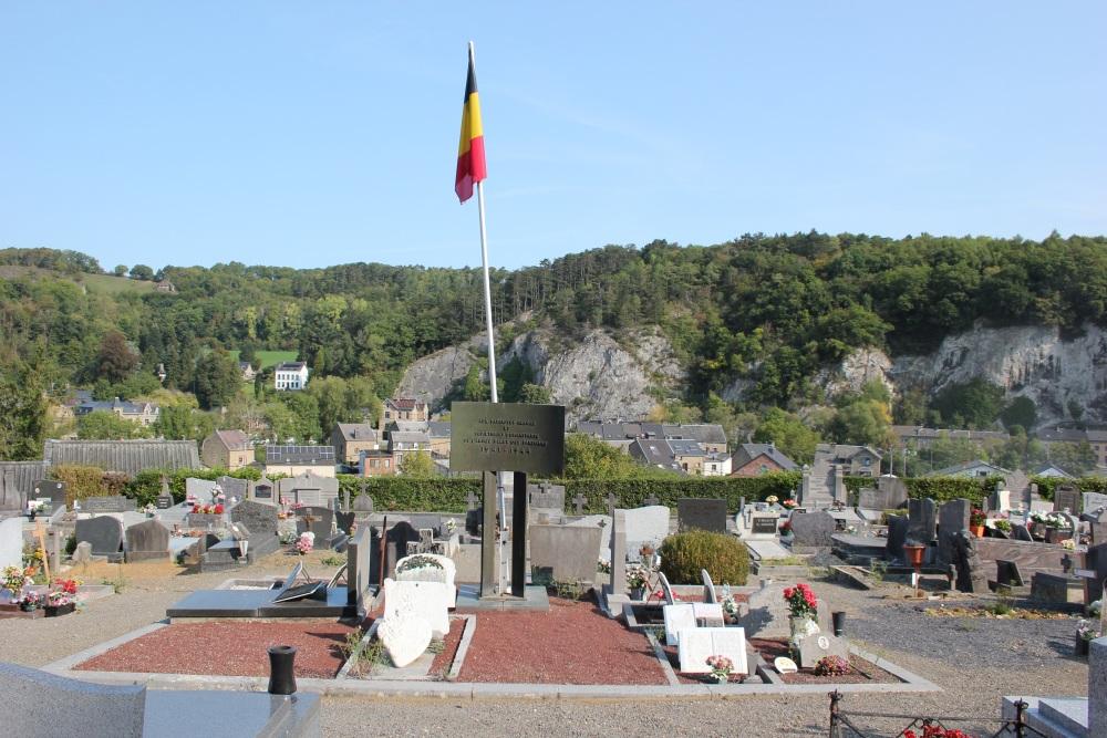 Belgische Oorlogsgraven Comblain-au-Pont