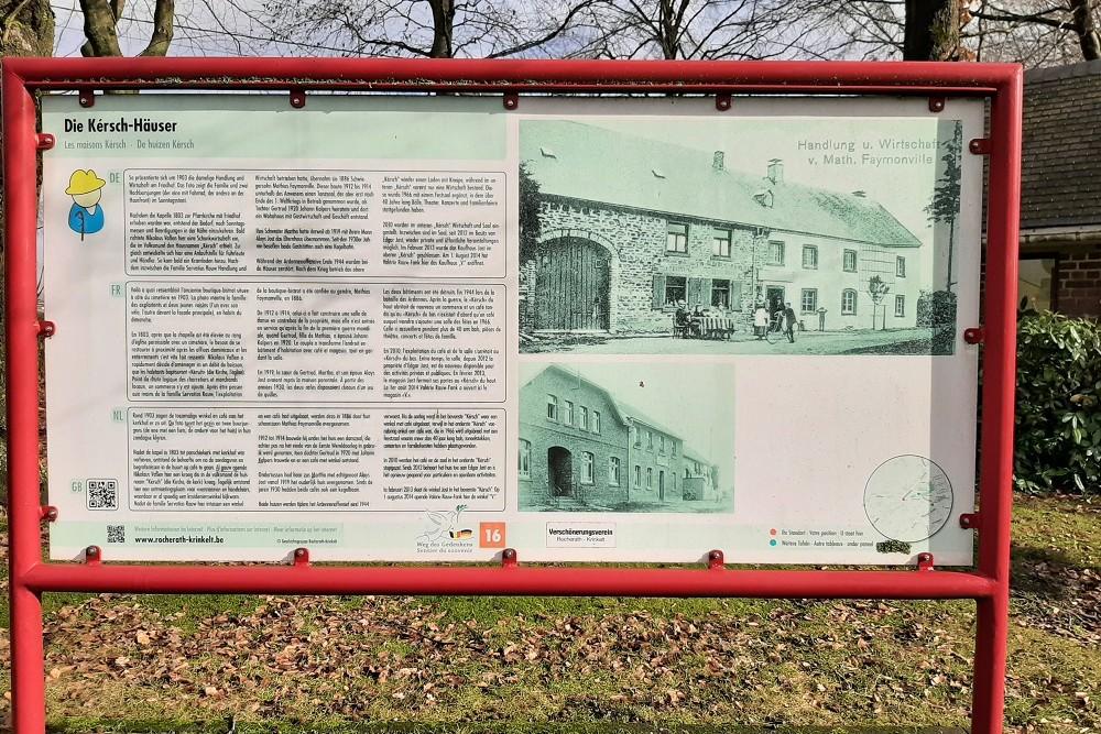Route of Commemoration No. 16: The Houses Kérsch