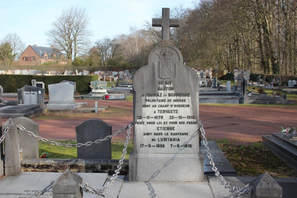 Memorial Grave Brothers de Bossiere