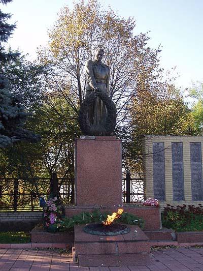Mass Grave Soviet Soldiers & Partisans Lokhvytsia