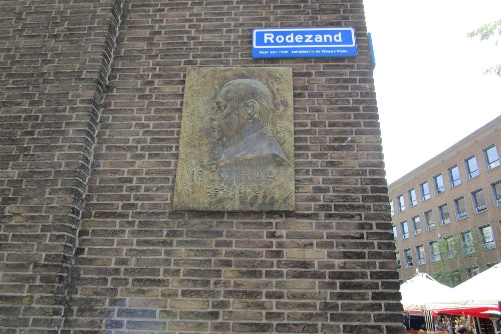 Plaque Ir. C. van Traa Rotterdam
