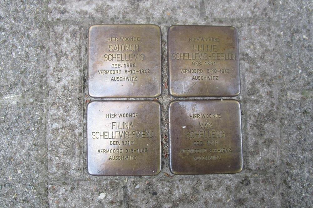 Remembrance Stones Jan Lievensstraat 34