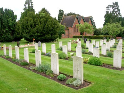 Commonwealth War Graves Bassingbourn Cemetery