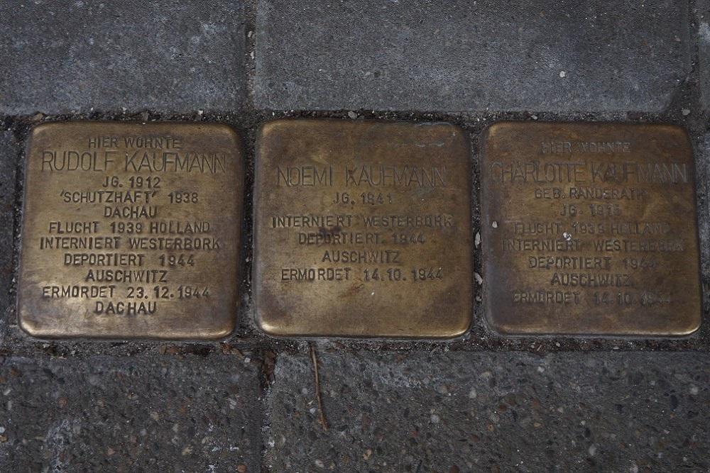 Stolpersteine Herzogstrasse 1 Kleve