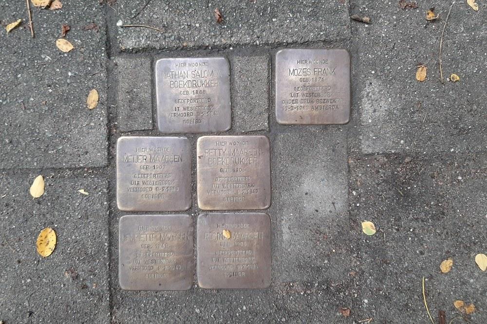 Stumbling Stones Henri Polaklaan 13