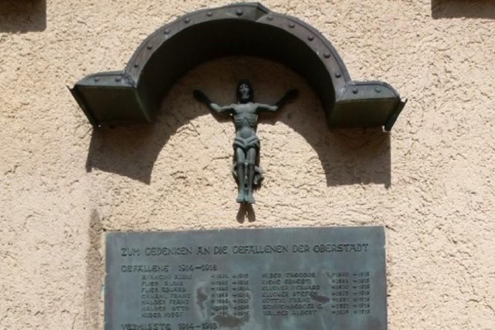 Oorlogsmonument Bregenzer Oberstadt