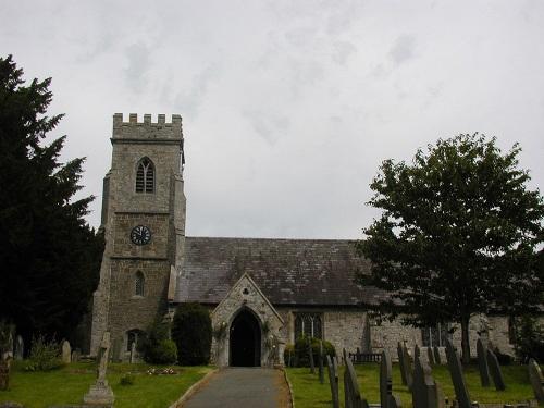 Oorlogsgraven van het Gemenebest St Gwynog Churchyard
