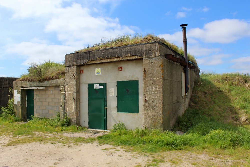 Batterie Waldam - Garagebunker