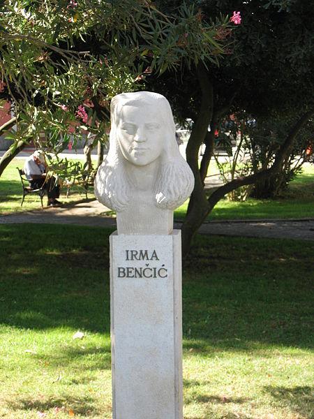 Bust Irma Benčić