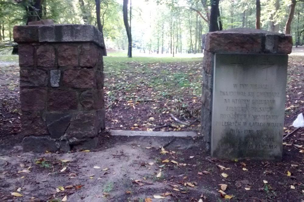 Voormalige Oorlogsbegraafplaats Skierniewice 1914-1920