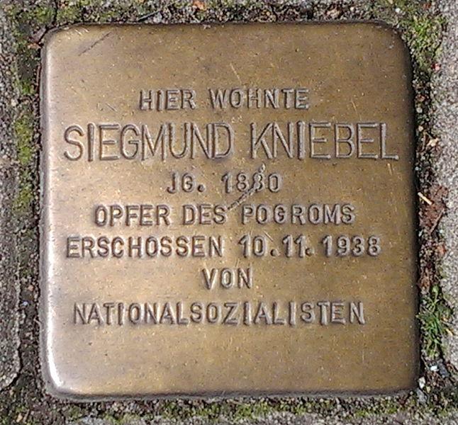 Stumbling Stone Jägerstraße 48