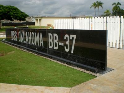 Monument U.S.S. Oklahoma